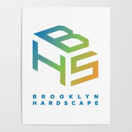 Brooklyn Hardscape Apparel Poster
