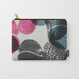 Tri-color cactus Carry-All Pouch
