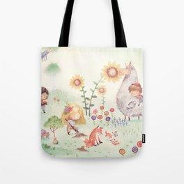 Forrest Garden Tote Bag