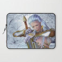 Frozen in thought Laptop Sleeve