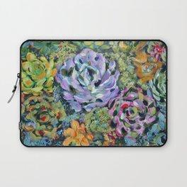 Colorful Succulents, Fine Art Prints, Cactus Wall Art, Original Artwork Design Laptop Sleeve
