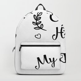 My Squad Eats Hay Horse Horse Lover Funny Gifts Backpack