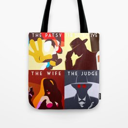 Who Set Up The Rabbit? Tote Bag