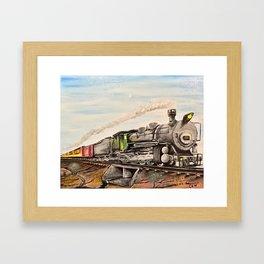 Arid Crossing Framed Art Print
