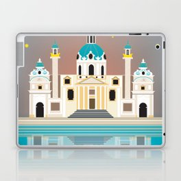 Vienna, Austria - Skyline Illustration by Loose Petals Laptop & iPad Skin