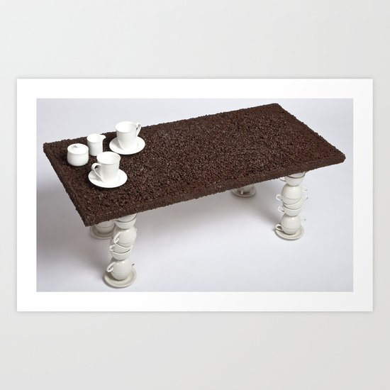 Coffee Table Art Print