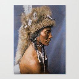 Yellow Kidney - Piegan - Blackfoot American Indian Canvas Print