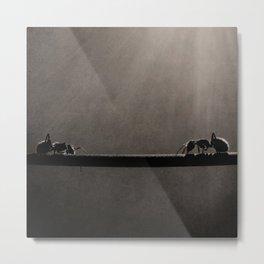 Ant Showdown Metal Print