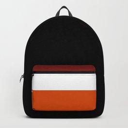 TEAM COLORS 8...Maroon , orange white Backpack