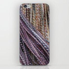 Handspun Yarn iPhone Skin