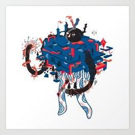 prjct02 Art Print