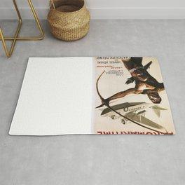 Vintage poster - Aeromaritime Rug