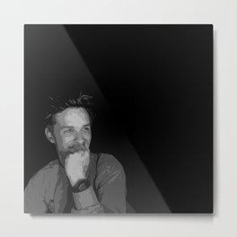 Eddie Redmayne 7 Metal Print