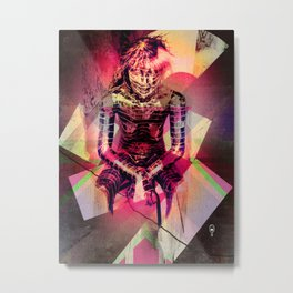 Dissolved Girl Metal Print
