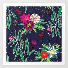 Neo Rainforest-Twillight Art Print
