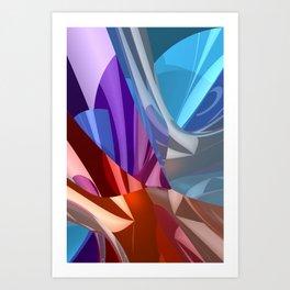 3D-reflections -2- Kunstdrucke