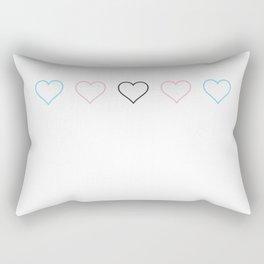 Transgender Heart 1 Rectangular Pillow