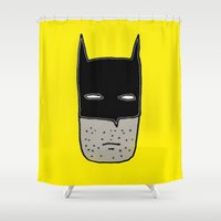 gotham Shower Curtains featuring Gotham by short stories gallery