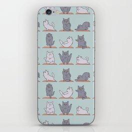 British Shorthair Cat  Yoga iPhone Skin
