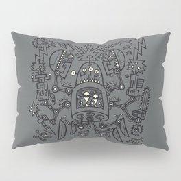 Evil Crabkillbot from Crab Nebula Against Humanity Pillow Sham