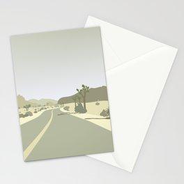 Joshua Tree Park - On the road Stationery Cards