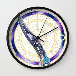 Black Talon Wall Clock