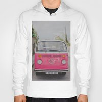 hot pink Hoodies featuring Hot Pink Lady by Hello Twiggs