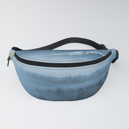 Mountains and fog. Fanny Pack