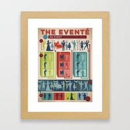 Improv Forms: The Eventé Framed Art Print