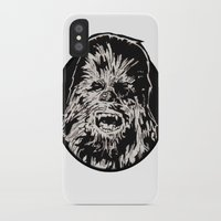 chewbacca iPhone & iPod Cases featuring Chewbacca by LaurenNoakes