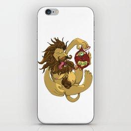 Lion Playing iPhone Skin