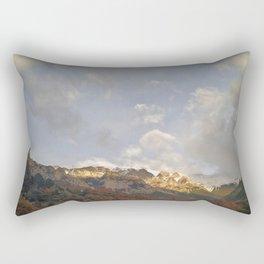 Snow Mountain Rectangular Pillow
