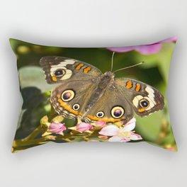 Buckeye Butterfly Rectangular Pillow