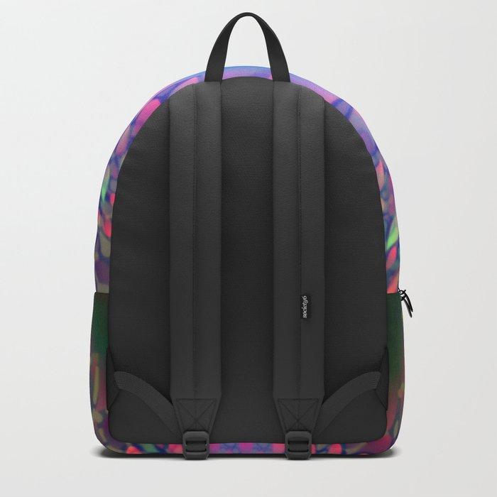 Hippie Starburst Mandala Backpack
