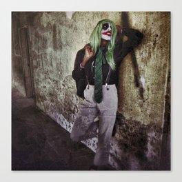 Joker Cosplay 5 Canvas Print