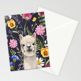 Wildflower Alpaca Stationery Cards