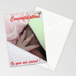 Tiny tiny fingers Stationery Cards