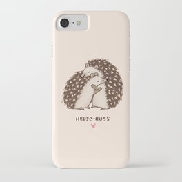 Hedge-hugs iPhone Case