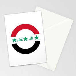 Roundel of Iraqi Air Force  Stationery Cards