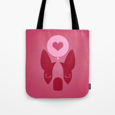 Boston Terrier Thoughts: Love. Tote Bag