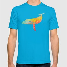 Watercolor Whale T-shirt