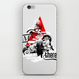 The man who wasn't there iPhone Skin