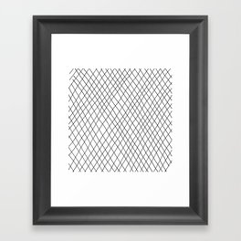 Fishnet Framed Art Print