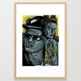 King of New York Framed Art Print