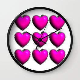 You Have My Heart all Zipped Up Wall Clock