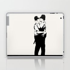 Kissing Coppers Laptop & iPad Skin