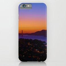 San Francisco Sunset - Golden Gate Bridge in the Background iPhone 6s Slim Case