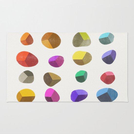 Painted Pebbles 2 Rug