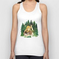 laura palmer Tank Tops featuring Twin Peaks Secret Diary of Laura Palmer by Lindsey Caneso