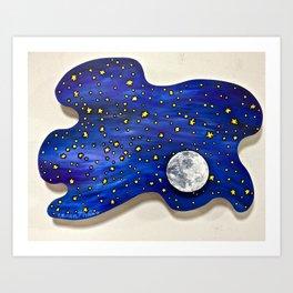 Look Up At Night Art Print